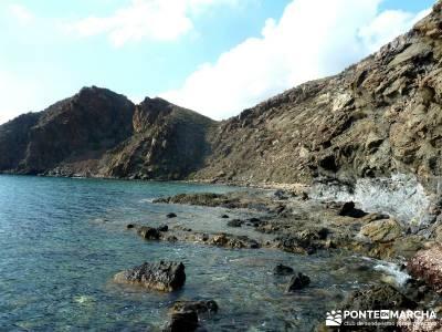 Calblanque y Calnegre - Cabo Tiñoso; montañismo madrid; excursiones;senderismo valle del jerte